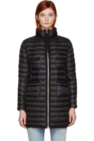 Moncler - Black Down Bogue Jacket