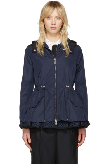 Moncler - Navy Lotus Hooded Jacket