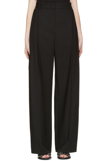 McQ Alexander McQueen - Black Kilt Pleat Trousers
