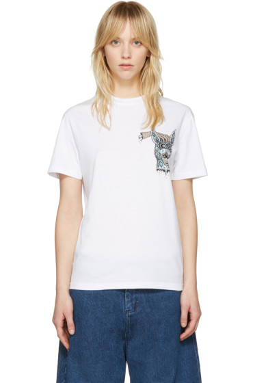 McQ Alexander McQueen - White 'Bring Me the Head of the Bunny' T-Shirt