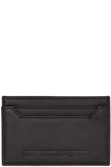 McQ Alexander McQueen - Black Logo Card Holder