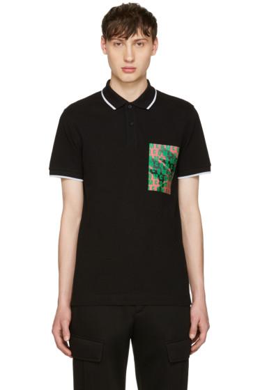 McQ Alexander McQueen - Black Logo Polo