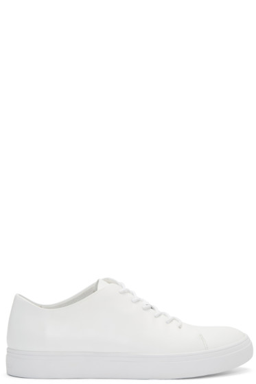 Tiger of Sweden - White Yngve Sneakers