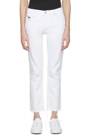 April77 - White Cult Iron Jeans