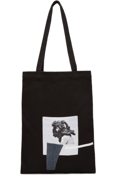 Rick Owens Drkshdw - Black Medium Patch Tote