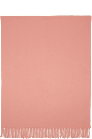 Acne Studios - Pink Canada Wide Scarf