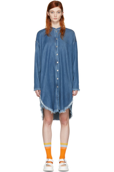 Acne Studios - Blue Denim Gracie Dress