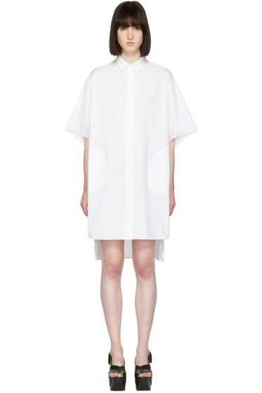 Acne Studios - White Debra Shirt Dress