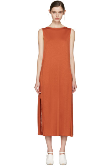 Acne Studios - Orange Ethel Dress