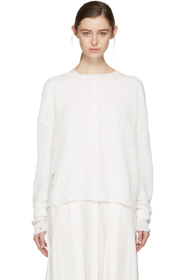 Acne Studios - Off-White Aisha Knit Pullover