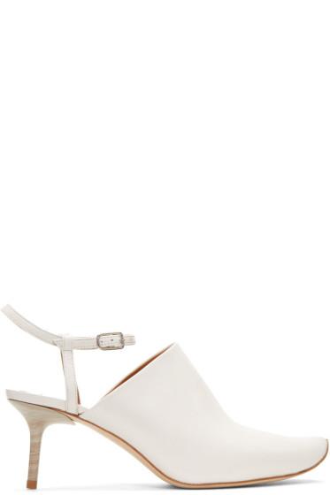 Acne Studios - White Nawel Heels