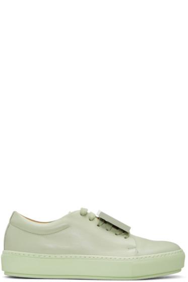 Acne Studios - Green Adriana TurnUp Sneakers