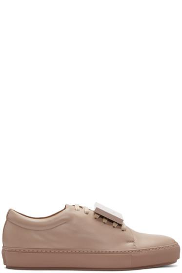 Acne Studios - Taupe Adriana TurnUp Sneakers