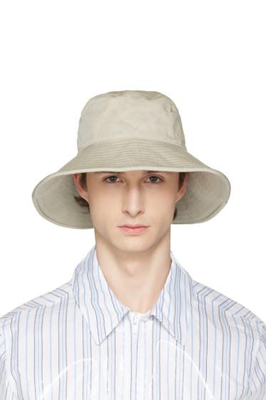 Acne Studios - Beige Bob Explorer Bucket Hat