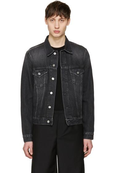 Acne Studios - Black Denim Who Jacket