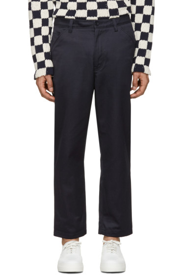 Acne Studios - Navy Allan Trousers