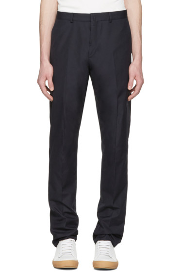 Acne Studios - Navy Brobyn Pop Trousers