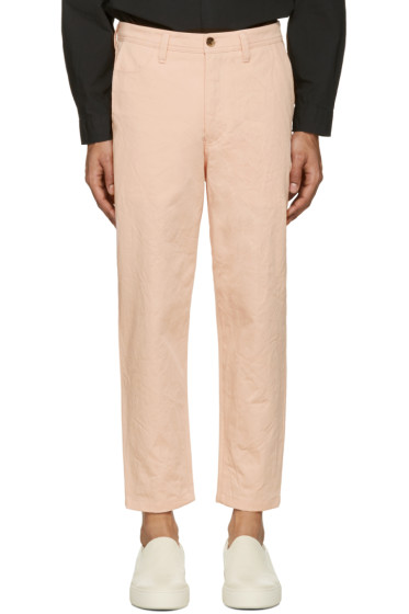 Acne Studios - Pink Angus Salt Trousers