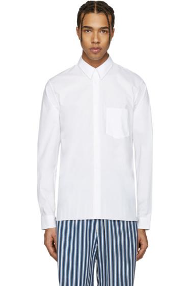 Acne Studios - White York Stretch Shirt