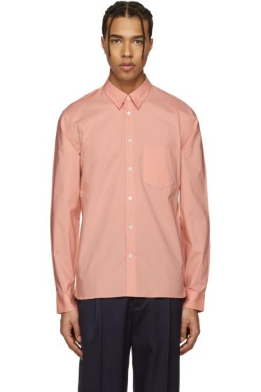 Acne Studios - Pink York Stretch Shirt