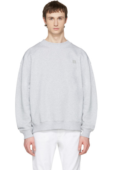 Acne Studios - Grey Yana Face Sweatshirt