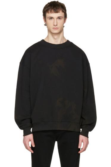 Acne Studios - Black Yana Bleacher Sweatshirt