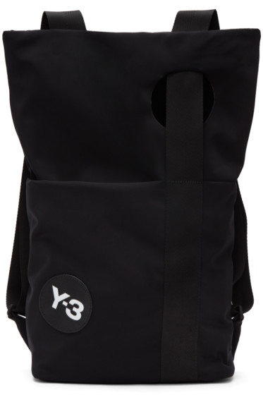 Y-3 - Black Logo Backpack