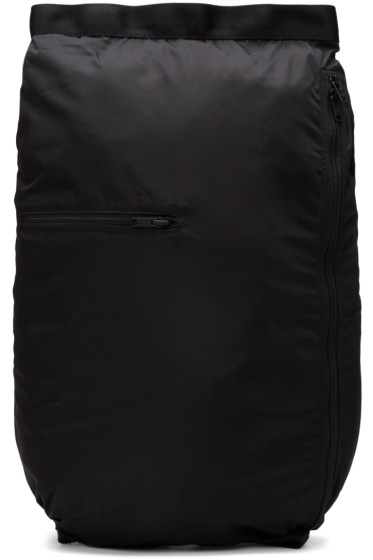 Y-3 - Black Packable Backpack