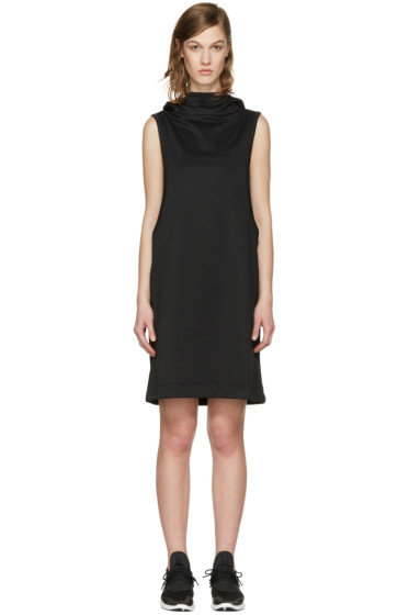 Y-3 - Black Core Track Hooded Dress