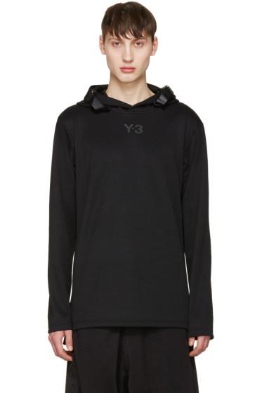 Y-3 - Black Core Track Hoodie