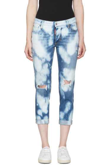 Dsquared2 - Blue Glam Head Jeans