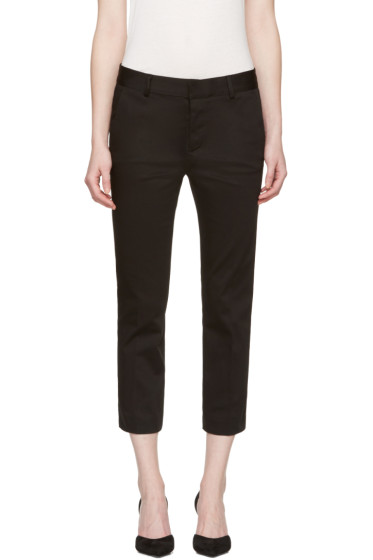 Dsquared2 - Black Cool Girl Cropped Trousers