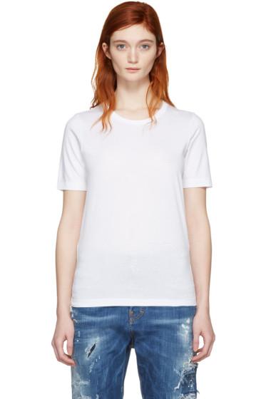Dsquared2 - White Round Neck T-Shirt