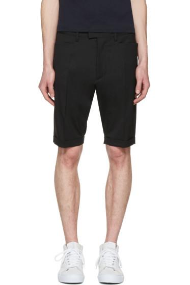 Dsquared2 - Black Glam Head Chic Shorts