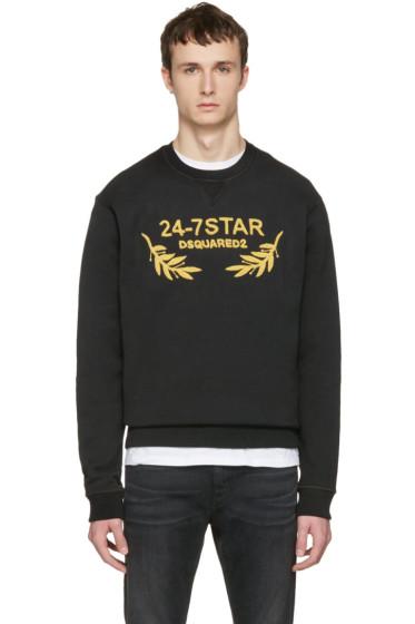 Dsquared2 - Black Soft Logo Sweatshirt