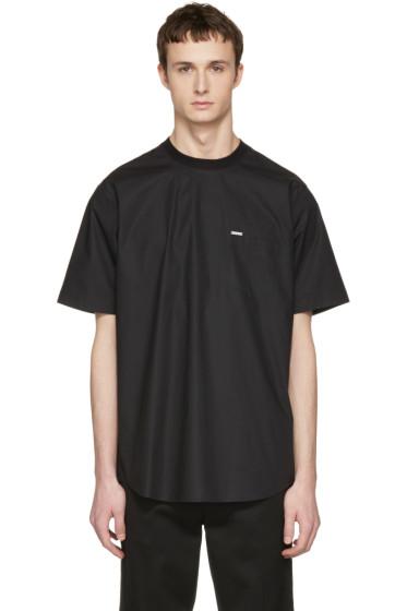Dsquared2 - Black Poplin T-Shirt