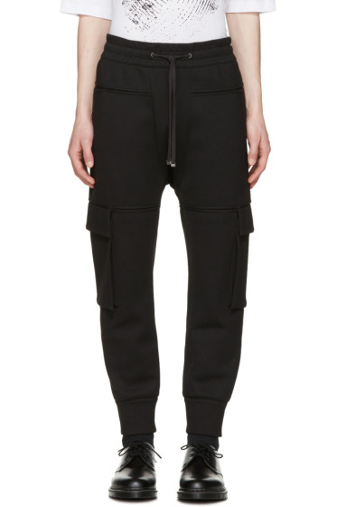 Helmut Lang - Black Pocket Jogger Pants