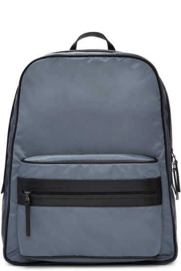 Maison Margiela - Blue Nylon Backpack