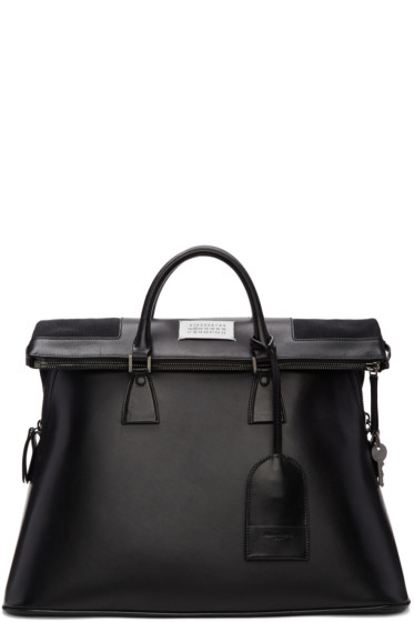 Maison Margiela - Black Leather 5AC Bag
