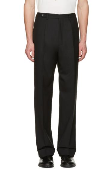 Maison Margiela - Black High-Rise Trousers