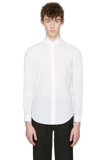 Maison Margiela - White Poplin Shirt
