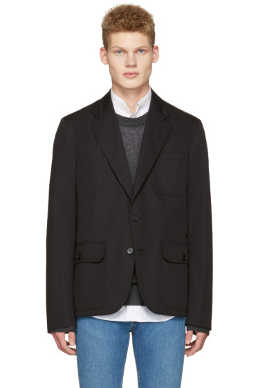 Maison Margiela - Black Pocket Detail Blazer