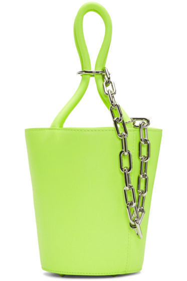 Alexander Wang - Yellow Mini Roxy Bucket Bag