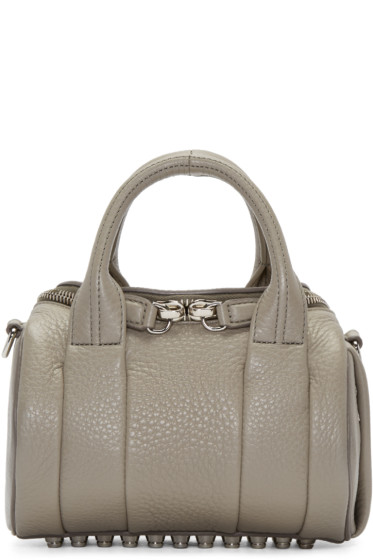 Alexander Wang - Grey Mini Rockie Bag