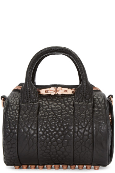 Alexander Wang - Black Mini Rockie Bag
