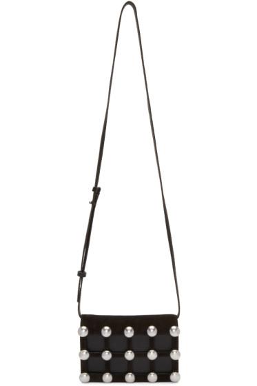 Alexander Wang - Black Studded Prisma Biker Bag