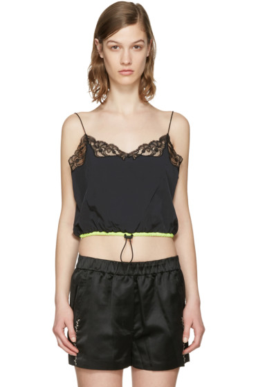 Alexander Wang - Black Cropped Camisole