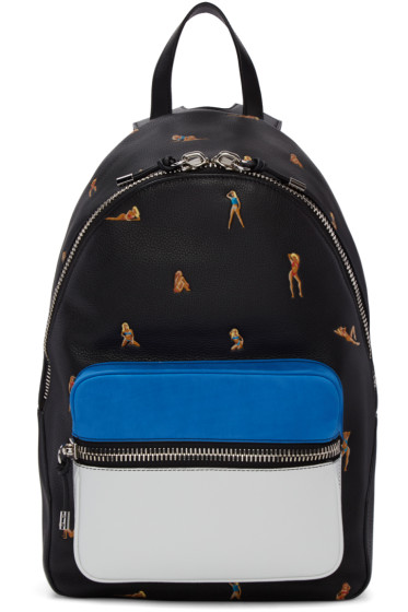 Alexander Wang - Black Leather Berkeley Bikini Backpack