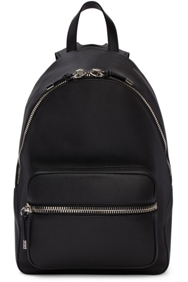 Alexander Wang - Black Leather Berkeley Backpack