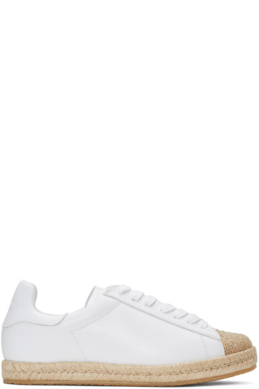 Alexander Wang - White Rian Espadrille Sneakers